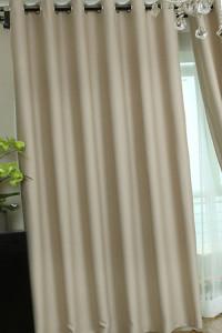 Глаженные шторы из полиэстера