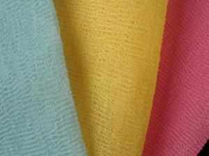 Стирка ткани из полиамида и полиэстера