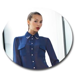 Блузка из полиэстера